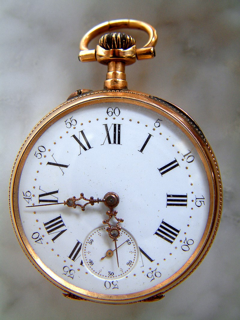 C'est la montre de mon grand père