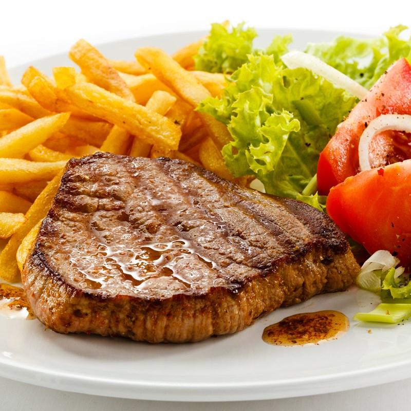 Pour moi ce sera un steak frites