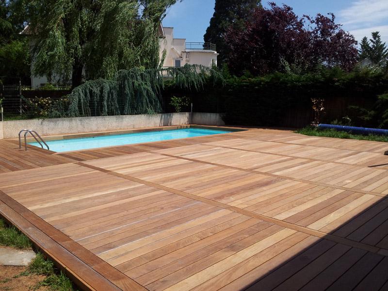 N 39 h sitez plus pour votre terrasse sur nature bois concept for Terrasse en bois sur carrelage existant