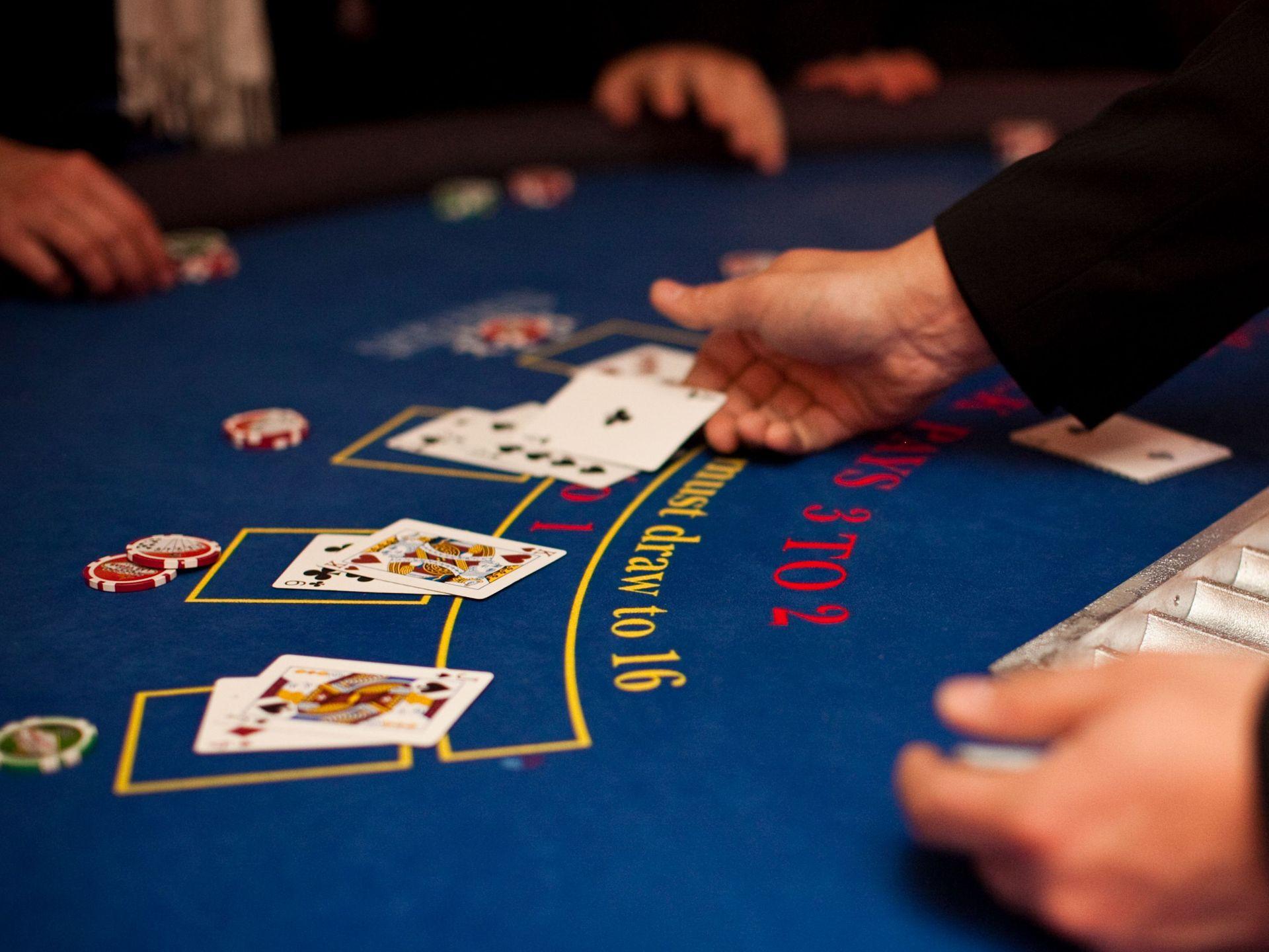 J'ai une préférence pour le blackjack en ligne